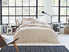 Sheridan Abbotson Belgian Linen Tailored Quilt Cover Flax