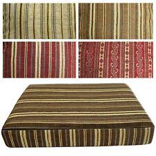 Box Shape Seat/Back Cover*Damask Chenille Chair 3D Cushion Case*Custom Size*Wk8