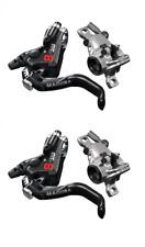 Magura MT8 PRO HC 1-Finger Black/Chrom Edition vorne+hinten 1 Paar Modellj. 2020