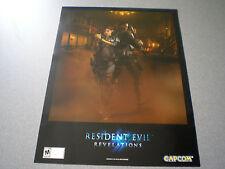 Resident Evil: Revelations Poster    NEW