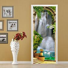 3D Waterfall 613 Door Wall Mural Photo Wall Sticker Decal Wall AJ WALLPAPER AU