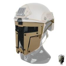 TMC Paintball Mask Airsoft Mask Full Face Mask Mesh Duty FAST Helmet Military