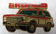 Pin's Voiture Un 4X4 Rouge BRONCO #2071