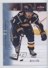 2009-10 Fleer Ultra Ice Medallion #17 Derek Roy Buffalo Sabres Hockey Card