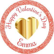 Día de San Valentín, te amo, casarte conmigo? Personalizado Cupcake Toppers Comestibles
