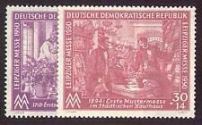 DDR Nr. 248-249 postfrisch ** / gestempelt Frühjahrsmesse 1950