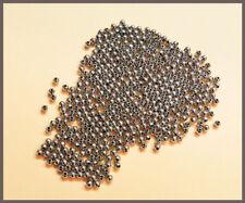 kleine runde Metallperlen Blei- und Nickelfrei Schmuck basteln silber 1 mm, NEU