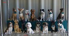 Walkies Sitting Dog Ornament Figure Staffy Westie Yorkie Labrador French Bulldog