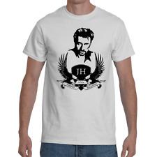 T-shirt Johnny Hallyday Hommage