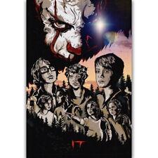 57872 IT Stephen King Horror 2017 Wall Print Poster CA