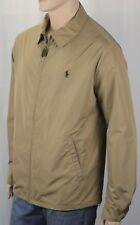 Polo Ralph Lauren Tan Khaki Jacket Coat Brown Pony NWT $185