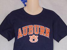 NEW Auburn University Tigers T-Shirt Boys Short Sleeve Top Shirt Blue Size L XL