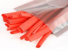 Orange CALOR SHRINK TUBO con relación 2:1, heatshrink Tubos - 1.6, 2.4, 6.4, 9.5