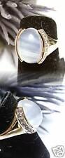 Gioielli-Pezzo anello oro Moon Quarzo sogni d'oro TANZANITE 675 18 56