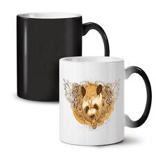 Panda Head Wings Animal NEW Colour Changing Tea Coffee Mug 11 oz | Wellcoda
