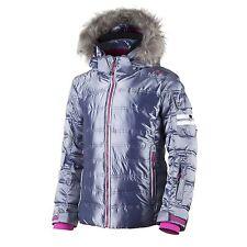 CMP Skijacke Steppjacke Winterjacke blau metallic Fell ClimaProtect®