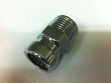 "15 mm x 1/2 ""CROMATO Yorkshire TECTITE Chrome PushFit maschio accoppiatore"