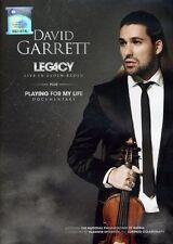 David Garrett: Legacy (Live in Baden) + Playing for My Life (Documentary, DVD)