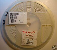NEOHM 0603 Resistor 33K Reel, 1%, CRG0603-33KF, 5000pcs
