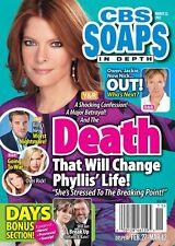 CBS Soaps In Depth Magazine - March 12, 2012 - Michelle Stafford Hillary B Smith