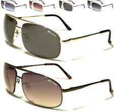 Nuevas Gafas De Sol Para Hombres Damas Unisex Negro Metal Aviadoras Retro Vintage Retro UV400