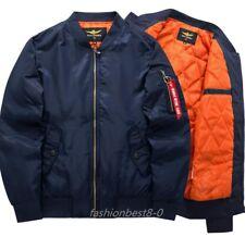 New Men's baseball suit padded jacket coat Air Force Flight Jackets cotton coats