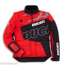 DUCATI Scott Enduro Textiljacke Tex Jacke Outdoor schwarz rot NEU !!