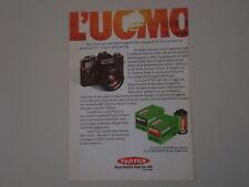 advertising Pubblicità 1974 PELLICOLE FUJICOLOR ASA 100