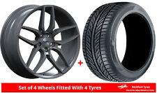 Alloy Wheels & Tyres 9.0x20 Calibre CC-U Grey + 2353520 Tyres