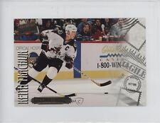 1997 Donruss Priority Postcards #26 John LeClair Philadelphia Flyers Hockey Card