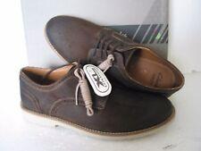 Clarks Zapatos para hombre Raspin Caminar Tabaco Brogue UK 7,7 .5 G