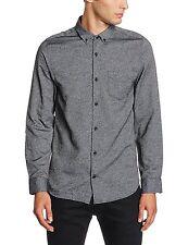 JACK & JONES Long Sleeve Shirt New Mens Slim Fit Plain Casual Smart Bail Shirts