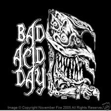 Mad Hatter Bad Acid Day Psychedelic Alice in Wonderland LSD THC Tea Shirt NFT017