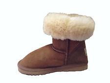 Australian Genuine Sheepskin Classic Short UGG Boots Boy or Girl Chestnut Colour