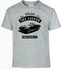 T-Shirt,Corvette C2,Youngtimer,Oldtimer