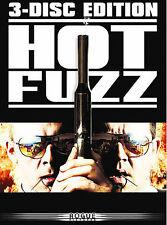 Hot Fuzz (DVD, 2007, 3-Disc Collector's Edition Box Set) FREE USA SHIPPING!