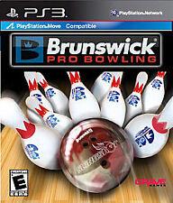Brunswick Pro Bowling PS3! MOVE COMPATIBLE! PIN, STRIKE, FUN FAMILY GAME NIGHT 0