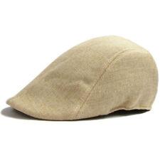 Mens Womens Duckbill Cap Ivy Cap Driving Sun Flat Cabbie Newsboy Hat Uni berets
