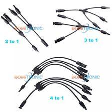 Solar Panel Cable Connector Adapter Waterproof IP65 Solar Y Branch Connector