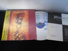 Megadeth Rusted Pieces Japan Laserdisc OBI Metallica LD
