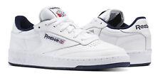 Reebok Classic Club C 85 White, Navy Mens Sneakers Tennis Shoes Item AR0457