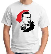 T-Shirt girocollo manica corta A126 Belgio Léon Degrelle Rex Belgique
