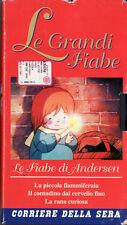LE GRANDI FIABE - LE FIABE DI ANDERSEN VHS