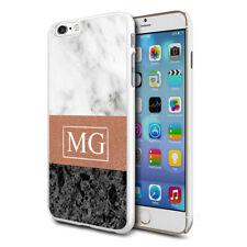 personnalisé marbre étui de téléphone pour apple Samsung Initiale Texte Nom - 32