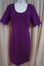 Frock By Tracy Reese Dress Sz 6 Boysenberry Purple Business Sheath Dress