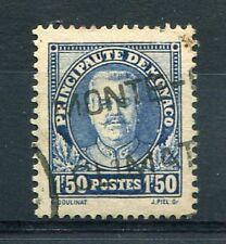 MONACO 1933 timbre 118, Prince Louis II, oblitéré