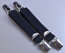 Straps, Strapsbänder 2cm breit mit Strumpfhalter und Hosenträgerclip