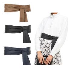 Ladies Black/Navy/Tan Wrap Around Belt