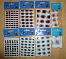 3 D Fischaugen - rot / weiss - 3 / 5 / 6 / 8 mm von Behr - Freie Auswahl - Neu
