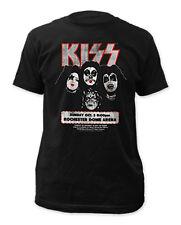 Kiss Retro Rochester '75 Mens T-Shirt New